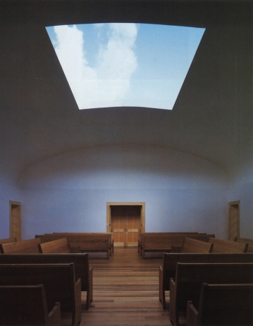 Turrell - One Accord 2001 Live Oak Friends Meeting House Houston
