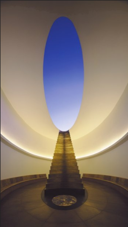 Turrell - View from inside the Roden Crater