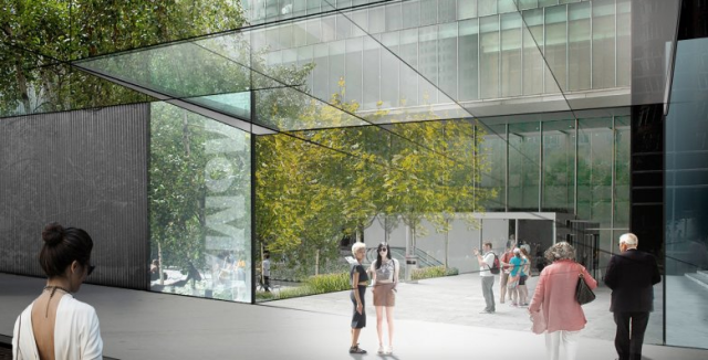 MoMA proposed new entrance
